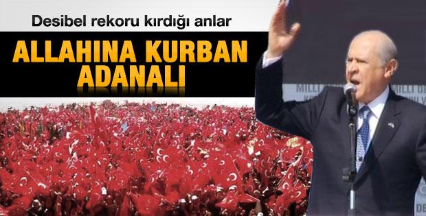 Devlet Bahçeli Adana'da konuştu