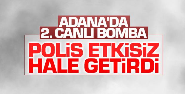Adana'da ikinci bombalı araç