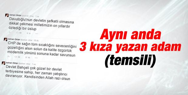 Adnan Oktar'dan siyasi parti ve liderlerine mavi boncuk