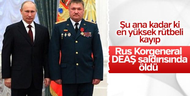 Rus Korgeneral Deyrizor'da öldü