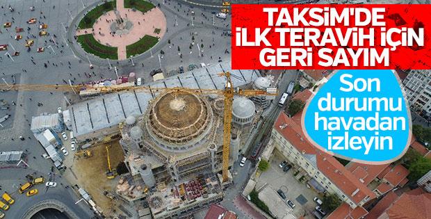 Taksim Camii Ramazan ayında açılacak