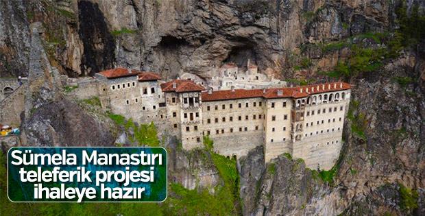 Sümela Manastırı'na yapılacak teleferik ihale edilecek