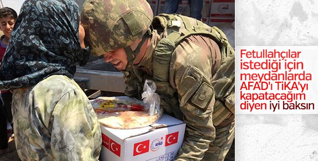 AFAD ve Mehmetçik Suriye'de yardımlara devam ediyor