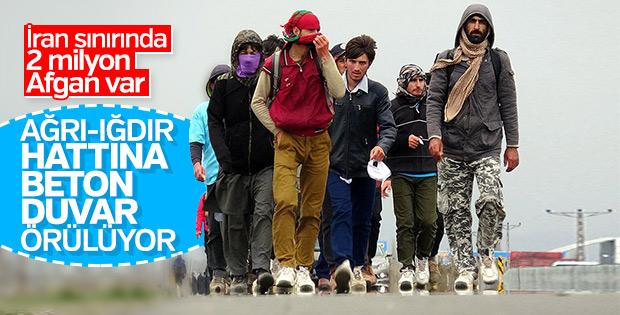 Afgan göçüne karşı sınıra duvar önlemi