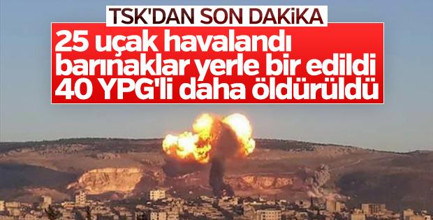 Zeytin Dalı Harekatı'nda 597 terörist öldürüldü
