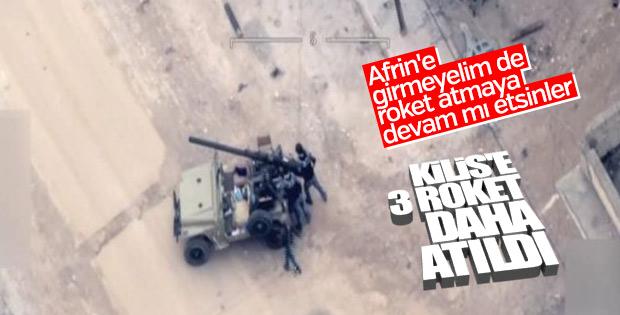 Terör örgütü YPG Kilis'e roketle saldırdı