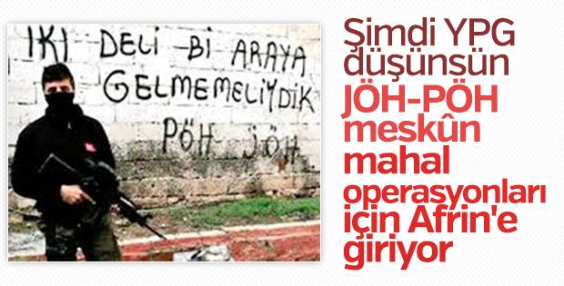 PÖH ve JÖH Afrin'de bir araya geldi
