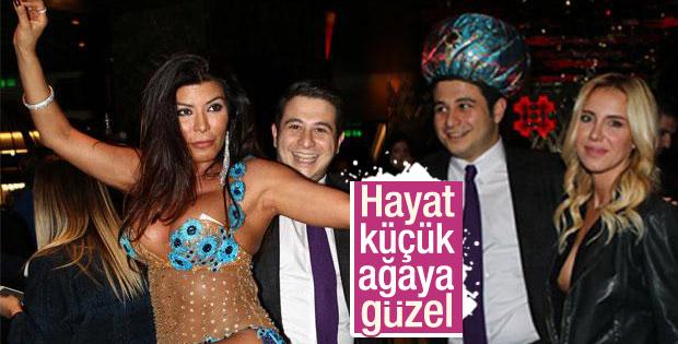 Alican Ağaoğlu padişah kavuğuyla eğlendi