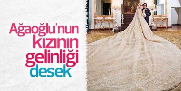 Ali Ağaoğlu kızı Sena'yı evlendirdi