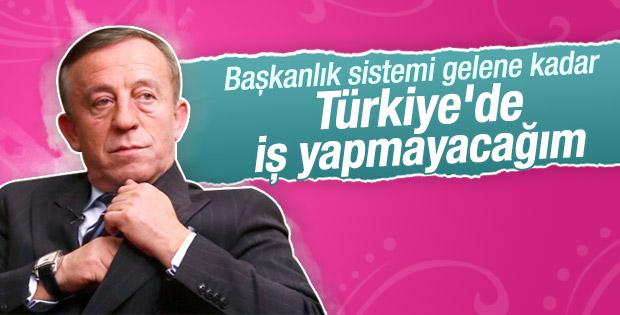 Ali Ağaoğlu Türkiye pazarından çekiliyor