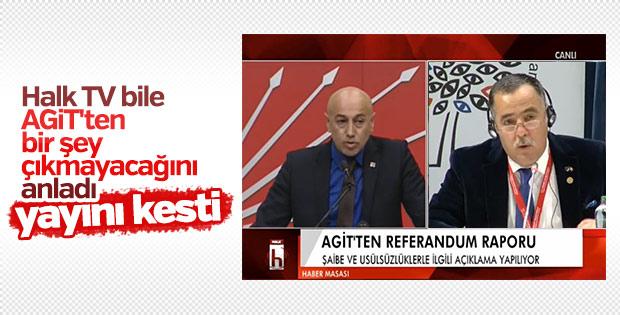 AGİT: Biz referandumu gözlemlemek için geldik