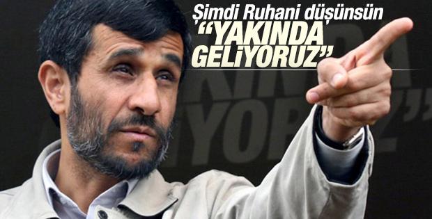 Ahmedinejad siyasete dönüyor