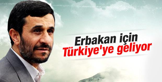 Ahmedinejad Türkiye'ye geliyor