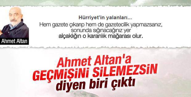 Haşmet Babaoğlu'ndan Ahmet Altan'a salvolar