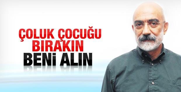 Baransu'nun tutuklanmasına Ahmet Altan'dan tepki