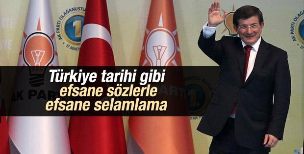 Davutoğlu'nun kongre konuşması