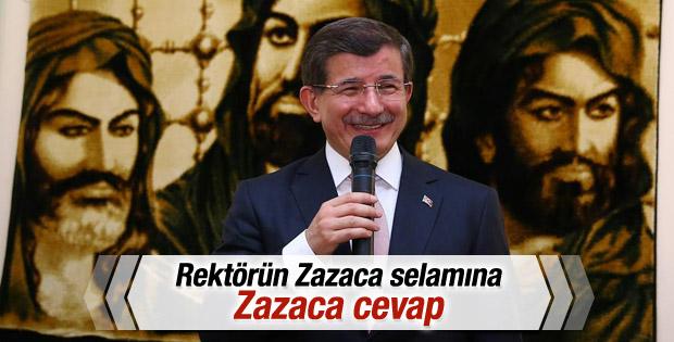 Başbakan Davutoğlu Tunceli'de İZLE