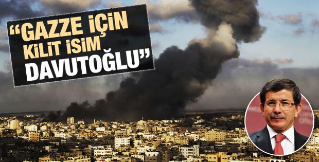 ABD'li sözcü Harf: Gazze için kilit isim Davutoğlu