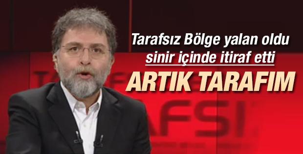 Ahmet Hakan: Artık tarafım