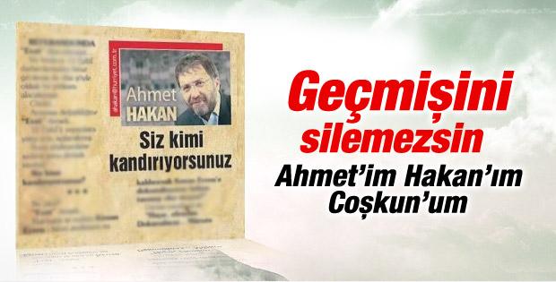 Ahmet Hakan'ın 12 Eylül yazısı