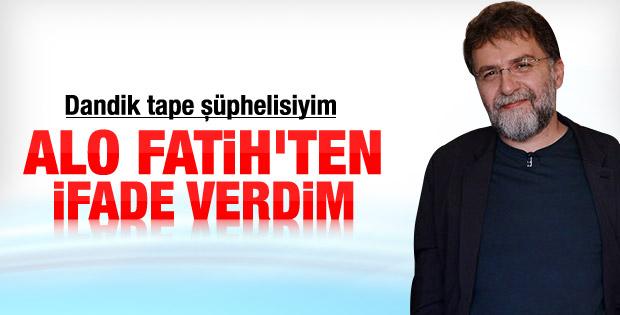 Ahmet Hakan'dan neden ifade verdim yazısı