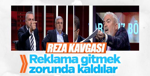 Canlı yayında tartışma çıktı, Ahmet Hakan reklama gitti