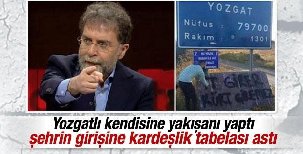 Yozgatlılar'dan Ahmet Hakan'a cevap