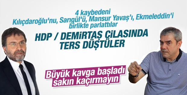 Ahmet Hakan Yılmaz Özdil kavgası başladı