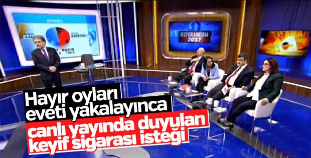 Ahmet Hakan'dan keyif sigarası