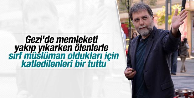Ahmet Hakan'dan öldürülen 3 müslümana ilginç benzetme