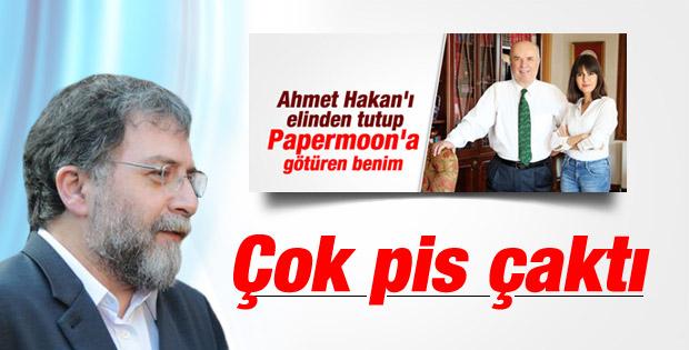 Ahmet Hakan'dan Fehmi Koru'ya Papermoon cevabı