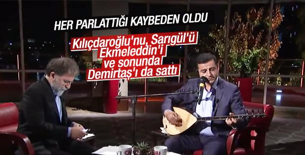 Ahmet Hakan Demirtaş'ı eleştirdi
