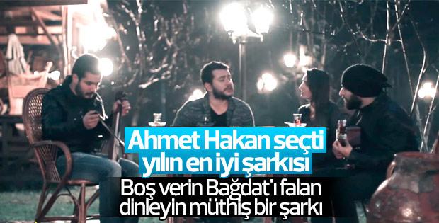 Ahmet Hakan'a göre yılın şarkısı