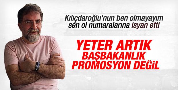 Ahmet Hakan Kılıçdaroğlu'na isyan etti