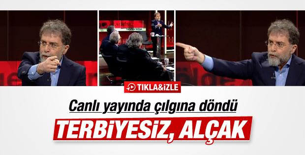 Ahmet Hakan'dan canlı yayında sert eleştiriler