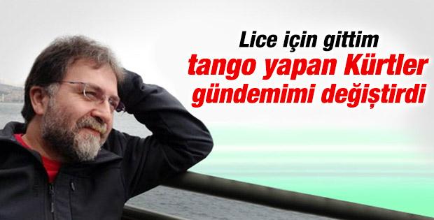 Ahmet Hakan'ın Diyarbakır izlenimi: Tango yapan Kürtler