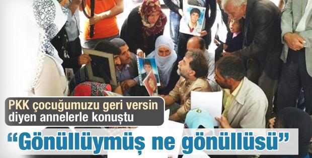 Ahmet Hakan Diyarbakırlı annelerle görüştü