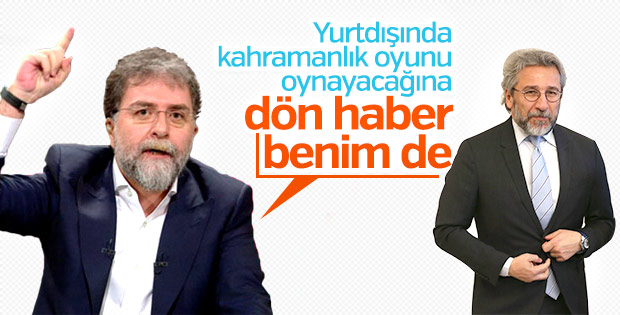 Ahmet Hakan'dan Can Dündar'a yurda dön çağrısı