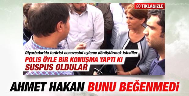 Ahmet Hakan'dan BDP'lileri susturan polise tepki