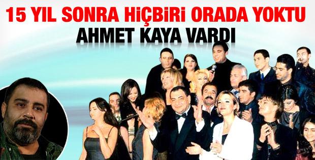 15 yıl sonra Ahmet Kaya anıldı