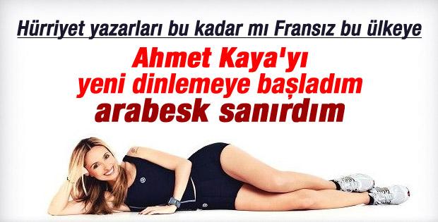 Hürriyet yazarı Yonca Tokbaş'ın Ahmet Kaya pişmanlığı