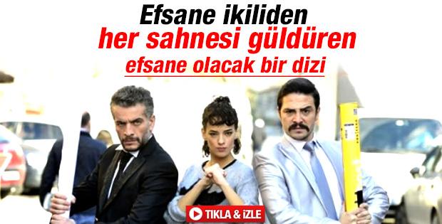 Ahmet Kural ve Murat Cemcir Kardeş Payı'yla güldürdü