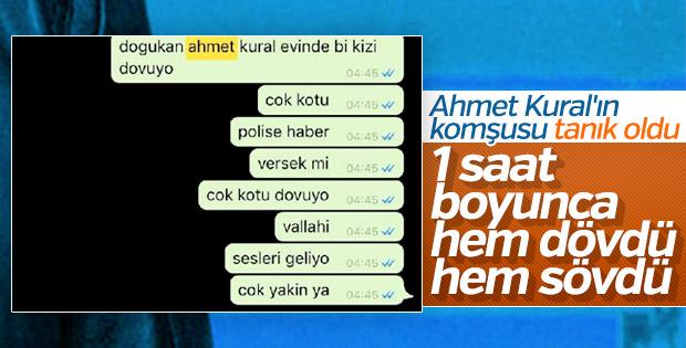 Ahmet Kural'ın komşusunun ifadesi ortaya çıktı