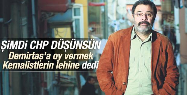 Ahmet Ümit: HDP'ye oy vermek Kemalistlerin yararına