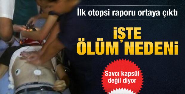 Ahmet Atakan'ın ilk otopsi raporu ortaya çıktı