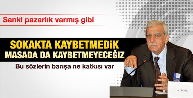 Ahmet Türk: Sokakta kazandık masada da kazanırız