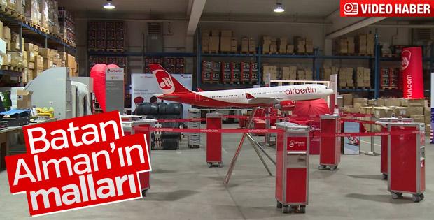 Air Berlin'in satışa çıkardığı mallar