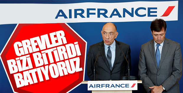 Air France batıyor