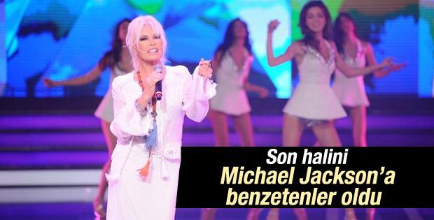 Ajda Pekkan'ın son hali Michael Jackson'a benzetildi