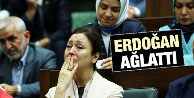 AK Parti Grubu'nda bazı vekil ve izleyiciler ağladı